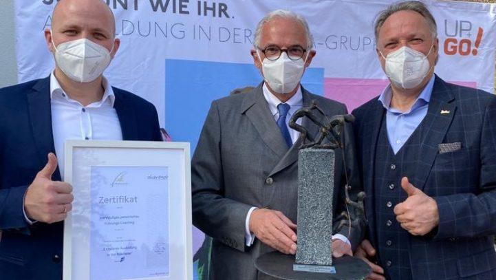 """Zadra-Gruppe ist """"Exzellenter Ausbildungsbetrieb des Jahres"""""""